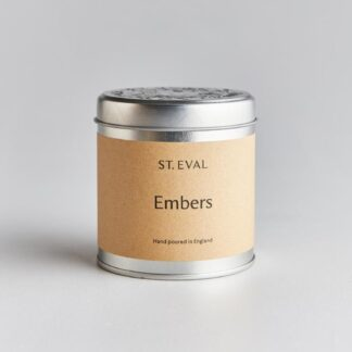Embers Scented Tin Candle