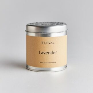 Lavender Scented Tin Candle