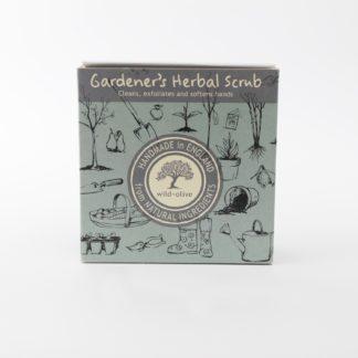 Gardener's Herbal Scrub packaging